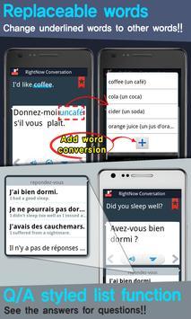 RightNow French Conversation screenshot 3