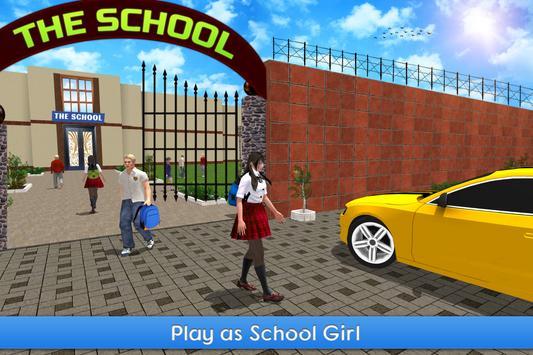 Virtual Girl Simulator: High School Girl Life screenshot 4