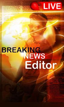 Breaking News Photo Editor poster