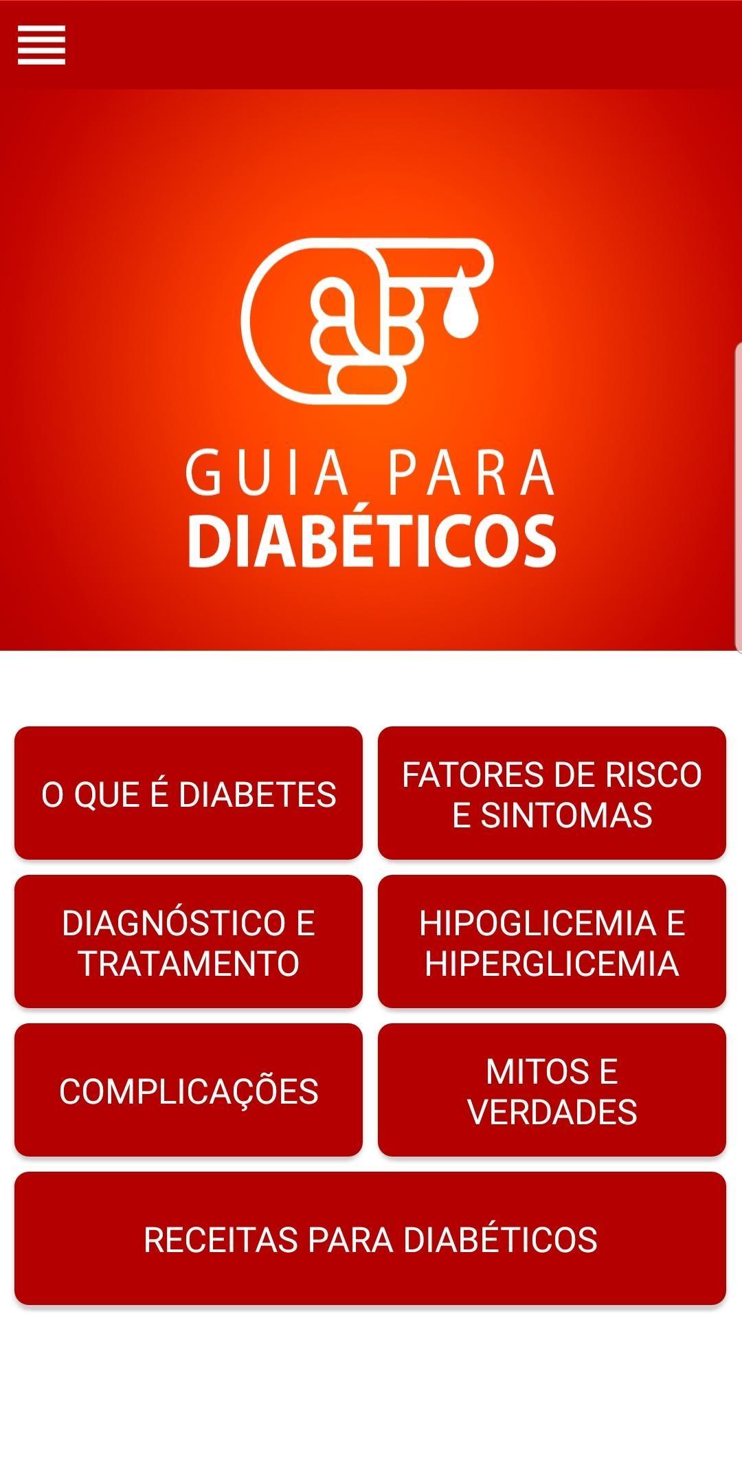 Guia para Diabéticos poster