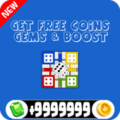 Get free Coins, Gems and Boost for Parcheesi icon