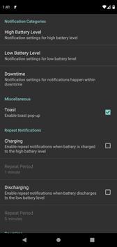 Battery Charge Notifier screenshot 5