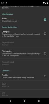 Battery Charge Notifier screenshot 6