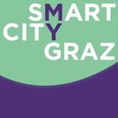 smart city graz 3D icon