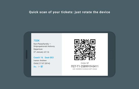 Railway tickets screenshot 5