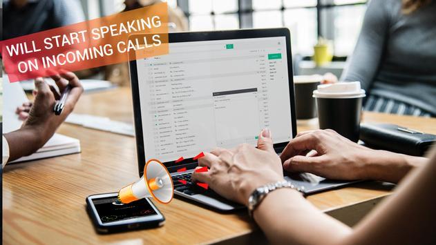 Caller Name Announcer:Caller id Speaker SMS Talker screenshot 4