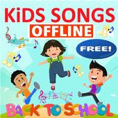 kids song - best offline nursery rhymes icono
