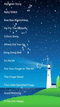 kids song - best offline nursery rhymes Poster