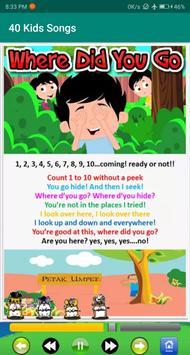 kids song - best offline nursery rhymes captura de pantalla 11