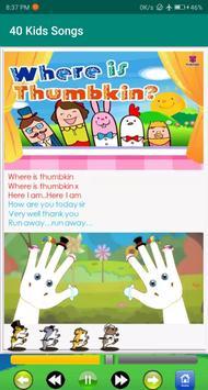 kids song - best offline nursery rhymes captura de pantalla 6