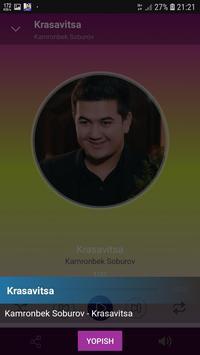 Kamronbek Soburov qo'shiqlari screenshot 2
