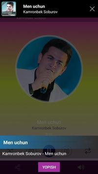 Kamronbek Soburov qo'shiqlari screenshot 3