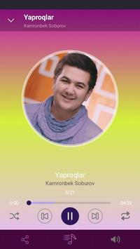 Kamronbek Soburov qo'shiqlari screenshot 4