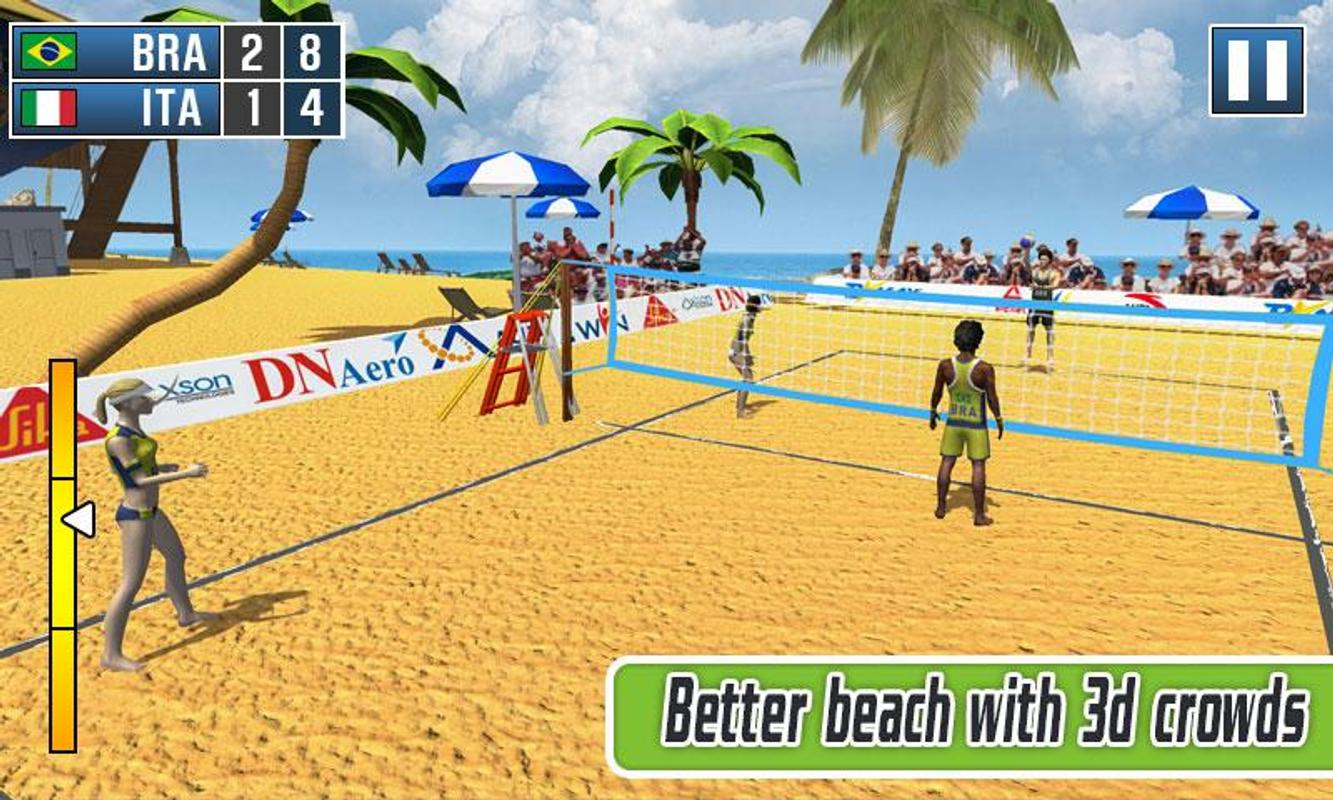volleyball games 3d