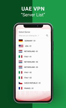 UAE VPN screenshot 1