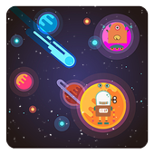 Star Space Robot icon