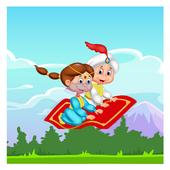 Princess Flying Carpet icône