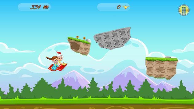 Princess Flying Carpet скриншот 1