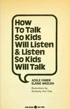 how_to_talk_so wids_will_listen poster