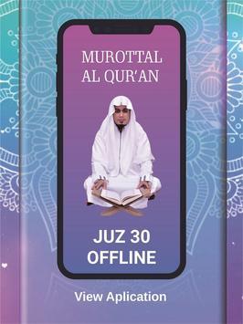 Murottal Qur'an Juz 30 OFFLINE - Ubaydillah Shaleh poster