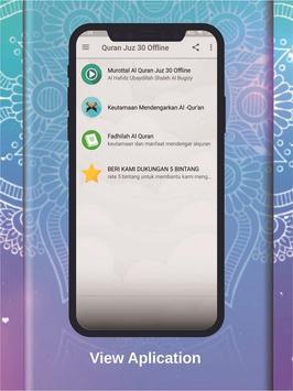Murottal Qur'an Juz 30 OFFLINE - Ubaydillah Shaleh screenshot 1