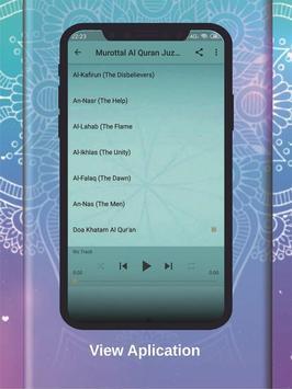 Murottal Qur'an Juz 30 OFFLINE - Ubaydillah Shaleh screenshot 2