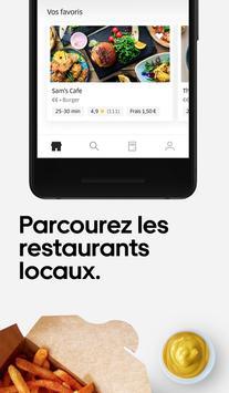 UberEats: livraison de repas près de chez vous capture d'écran 1