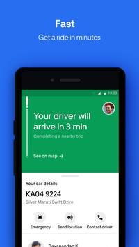 Uber Lite captura de pantalla 1