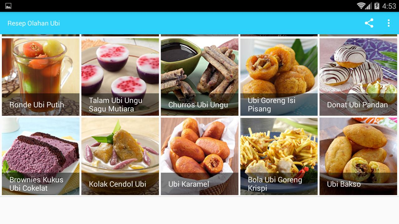 Resep Olahan Ubi For Android Apk Download