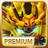 Superhero Fruit 2 Premium: Robot Fighting Zeichen
