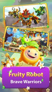 Superhero Fruit 2 Premium: Robot Fighting screenshot 1