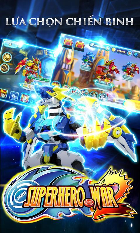 [Game Android] Siêu Nhân Robot: Chiến Thần Xạ Thủ - Offline RPG