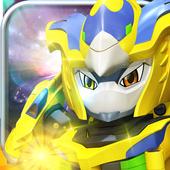 Superhero Robot icon