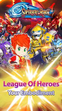 Superhero Robot poster