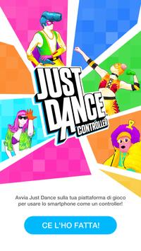 1 Schermata Just Dance Controller