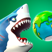 Install free Game Action android antagonis Hungry Shark World terbaik