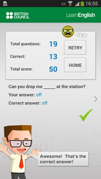 Learn English with Johnny Grammar's Word Challenge screenshot 3
