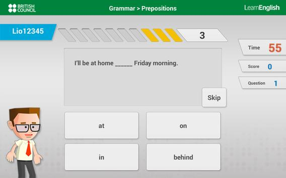 Learn English with Johnny Grammar's Word Challenge screenshot 6
