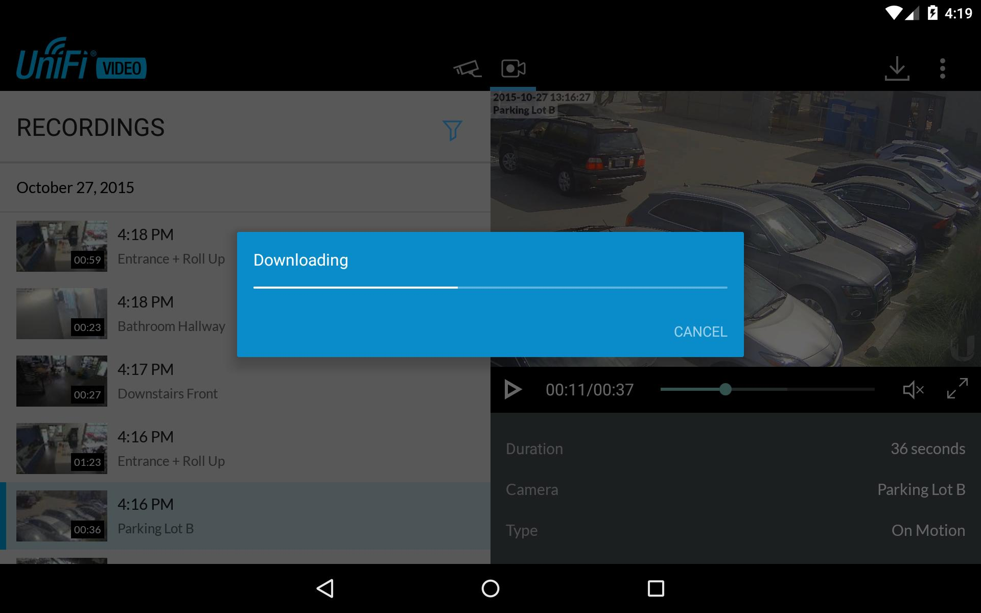 UniFi Video for Android - APK Download