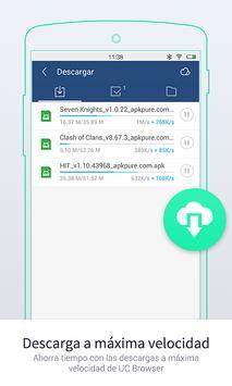 UC Browser Mini - Navegador captura de pantalla 2