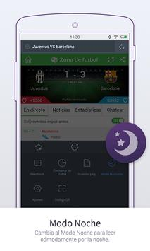 UC Browser Mini - Navegador captura de pantalla 6