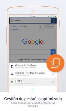 UC Browser Mini - Navegador captura de pantalla 7