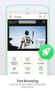 UC Browser Mini- ब्राउज़र मिनी स्क्रीनशॉट 1