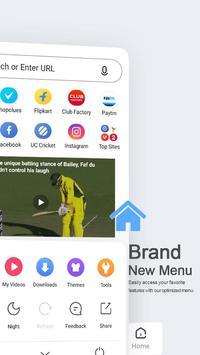 यूसी ब्राउज़र मिनी - लघु वीडियो और मजेदार वीडियो स्क्रीनशॉट 1