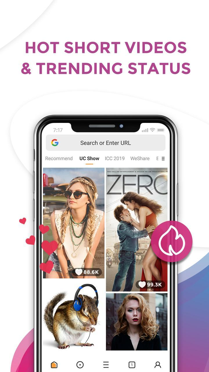 UC Browser Mini APK, UC Mini APK Download, search anywhere, anytime