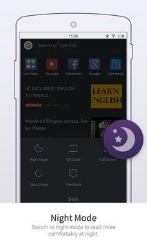 UC Browser Mini- ब्राउज़र मिनी स्क्रीनशॉट 3