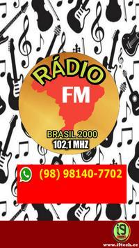 Rádio Brasil 2000 poster