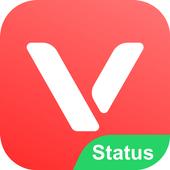 VMate Status - Video Status & Status Downloader आइकन