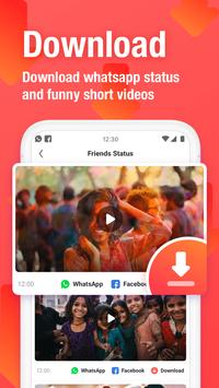 VMate Status - Video Status & Status Downloader पोस्टर