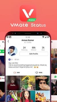VMate Status - Video Status & Status Downloader स्क्रीनशॉट 1